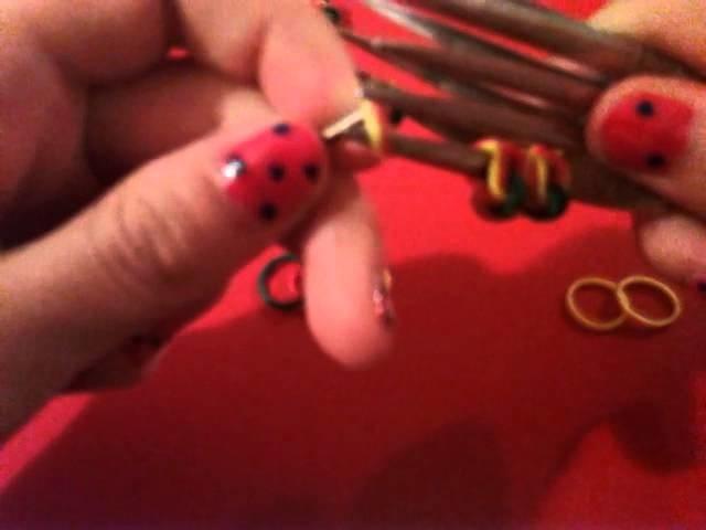 #2 bracelet elastique petite fleur
