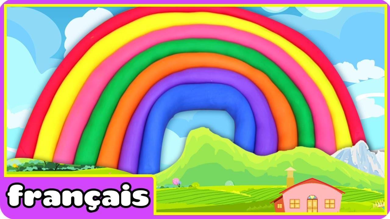 Arc de Ciel en Pâte à Modeler | How to Make Play Doh Rainbow| Play Doh Creations