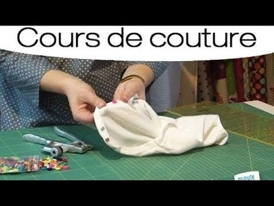 Couture : Customiser un vêtement avec un bouton pression