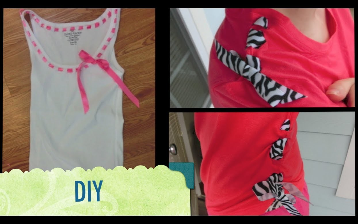 DIY: Transformation 2 T-shirts