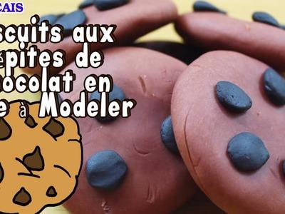 Play Doh Chocolate Chip Cookies | Biscuits de Chocolat en Pâte à Modeler en Francais