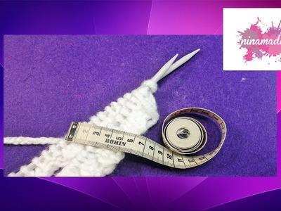 Comment calculer les mailles pour  tricoter.
