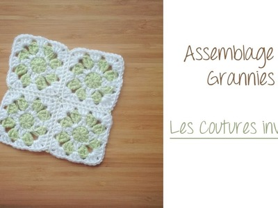 Coutures invisibles Granny Square