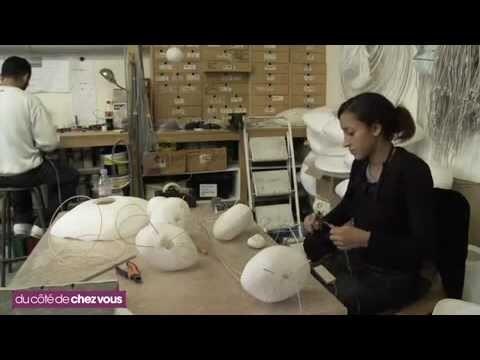 Les luminaires et le papier japonais par Céline Wright