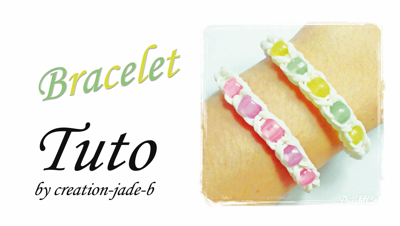 Tuto Rainbow Loom - Bracelet de Perles ! (CreaVea)