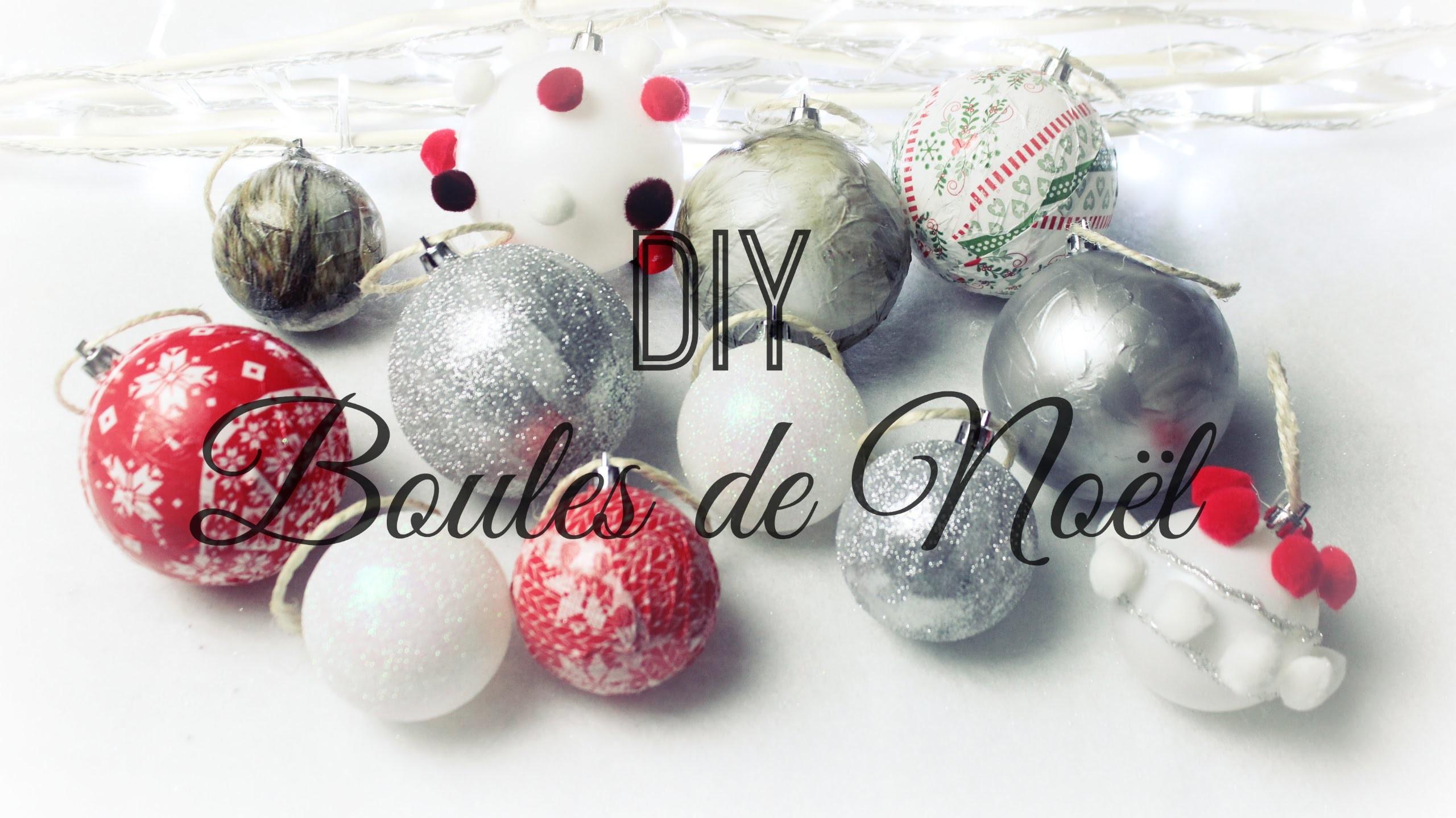[ D.I.Y de Noël #4 ] : Boules de Noël ❆