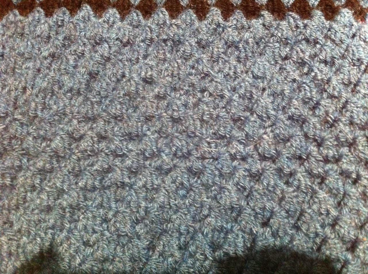 Un point épais : coussin de chaise, tapis de salle de bains, housse de protection épaisse au crochet