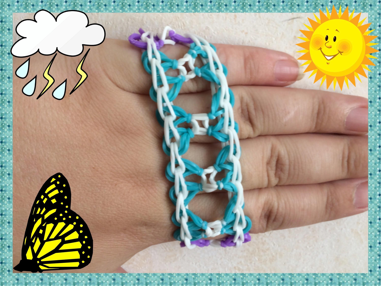 Loom #17 Bracelet Journey (En Français)(Rainbow Loom)
