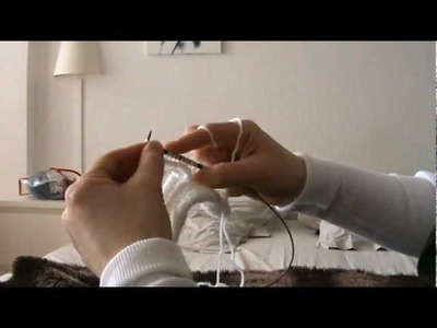 Raccorder manches circulaires au corps d'un tricot.MPG