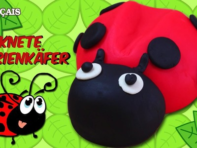 Francais Facile: How To Play Doh Ladybug in French | Coccinelle en Pâte à Modeler en Francais