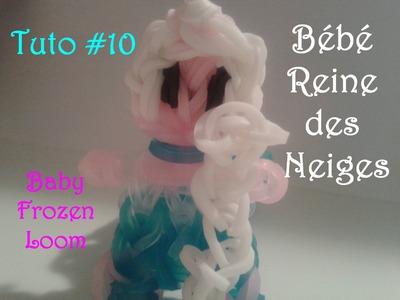 Tuto #10 Bébé Reine des neiges en élastiques - Baby Frozen Loom