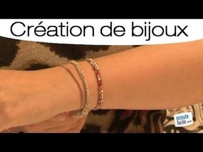 Comment faire un bracelet en tissu liberty ?