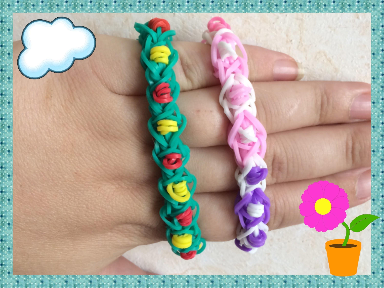 Loom #16 Bracelet Eternity (En Français)(Rainbow Loom)