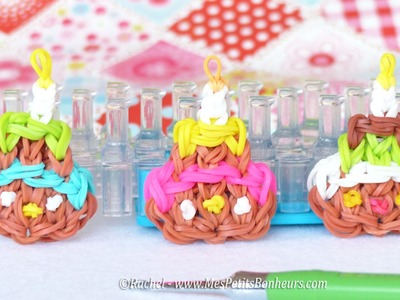 Tuto Gâteau d'anniversaire Rainbow Loom - Happy Birthday !