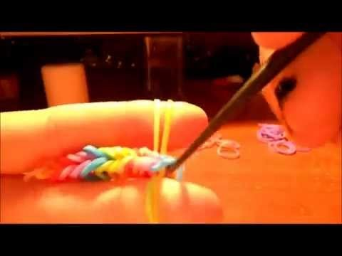 Tutoriel N° 7 - Bracelet élastique arc-en-ciel