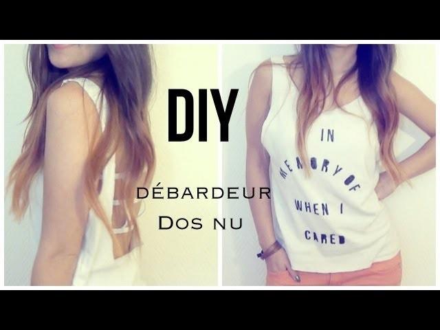 DIY │Débardeur dos nu ▵ Alyssia