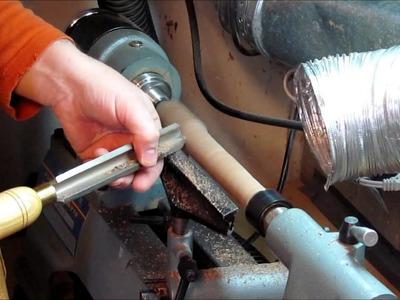 Comment faire un Tire-Pousse au tour à bois