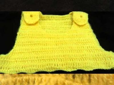 Robe de bébé au crochet
