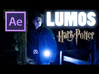 | After Effects | Harry Potter | créer un Lumos