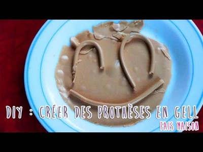 DIY : Créer des prothèses en gel fais maison (pour les allergiques au latex)