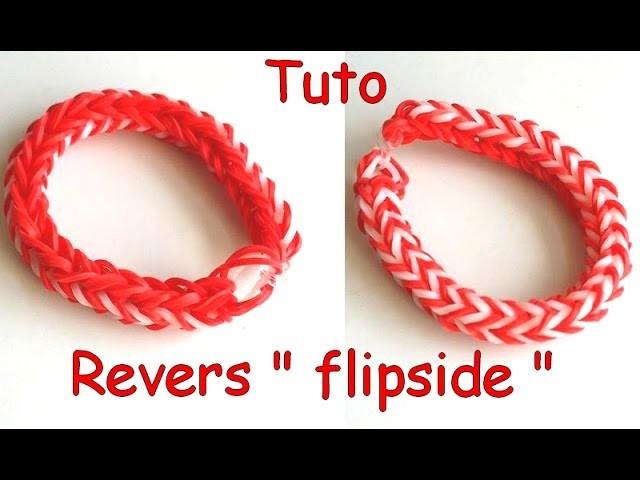 [ tuto ] bracelet élastique flipside ( revers )