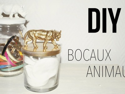 DIY│Bocaux Animaux ▵ Alyssia