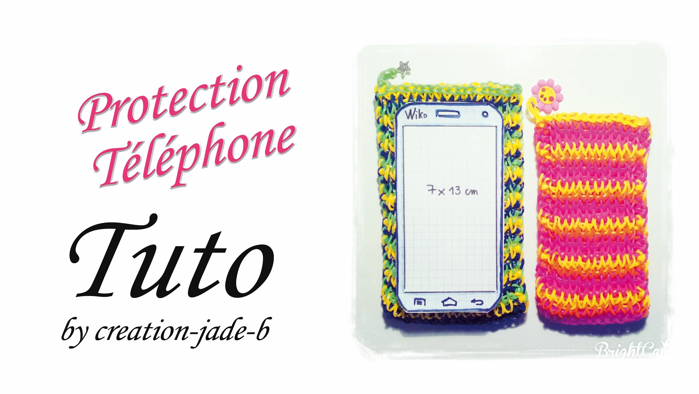 Tuto Rainbow Loom - Pochette. Protection pour Téléphone !