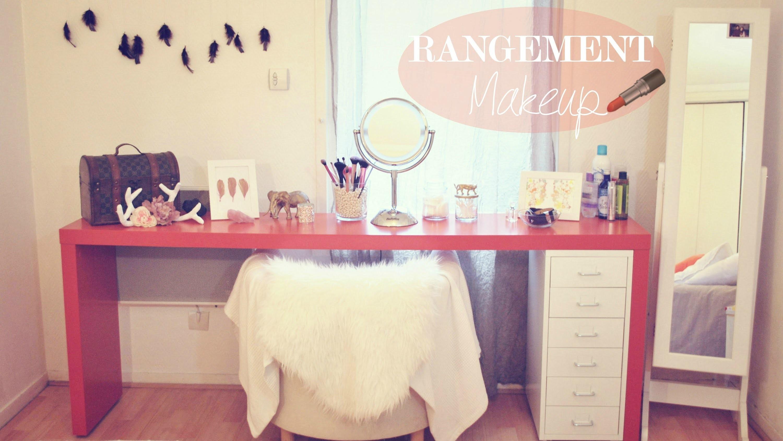 Déco│Rangement Makeup ▵ Alyssia