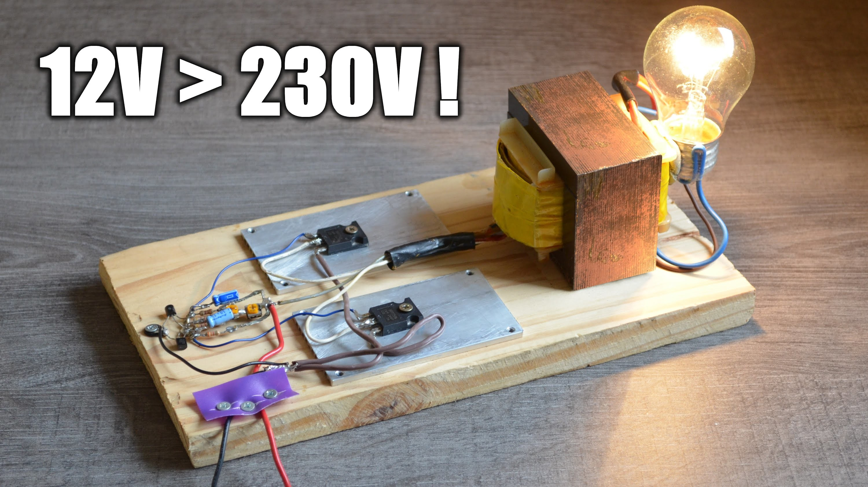 Fabriquer un onduleur : Incroyables Expériences [73]  Make an inverter. Homemade inverter.  DIY