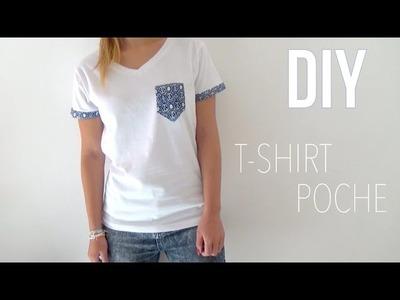 DIY│T-Shirt Poche