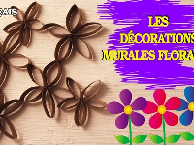 Comment Faire Facile et Rapide: French How To Flower Wall Art | Les décorations murales florales