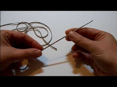 FRIVOLITE A L'AIGUILLE - noeud de base - ISA's ART