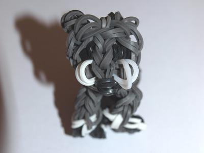 """Tuto loom.Réaliser un chat en 3D avec des élastiques de type """"rainbow loom"""""""