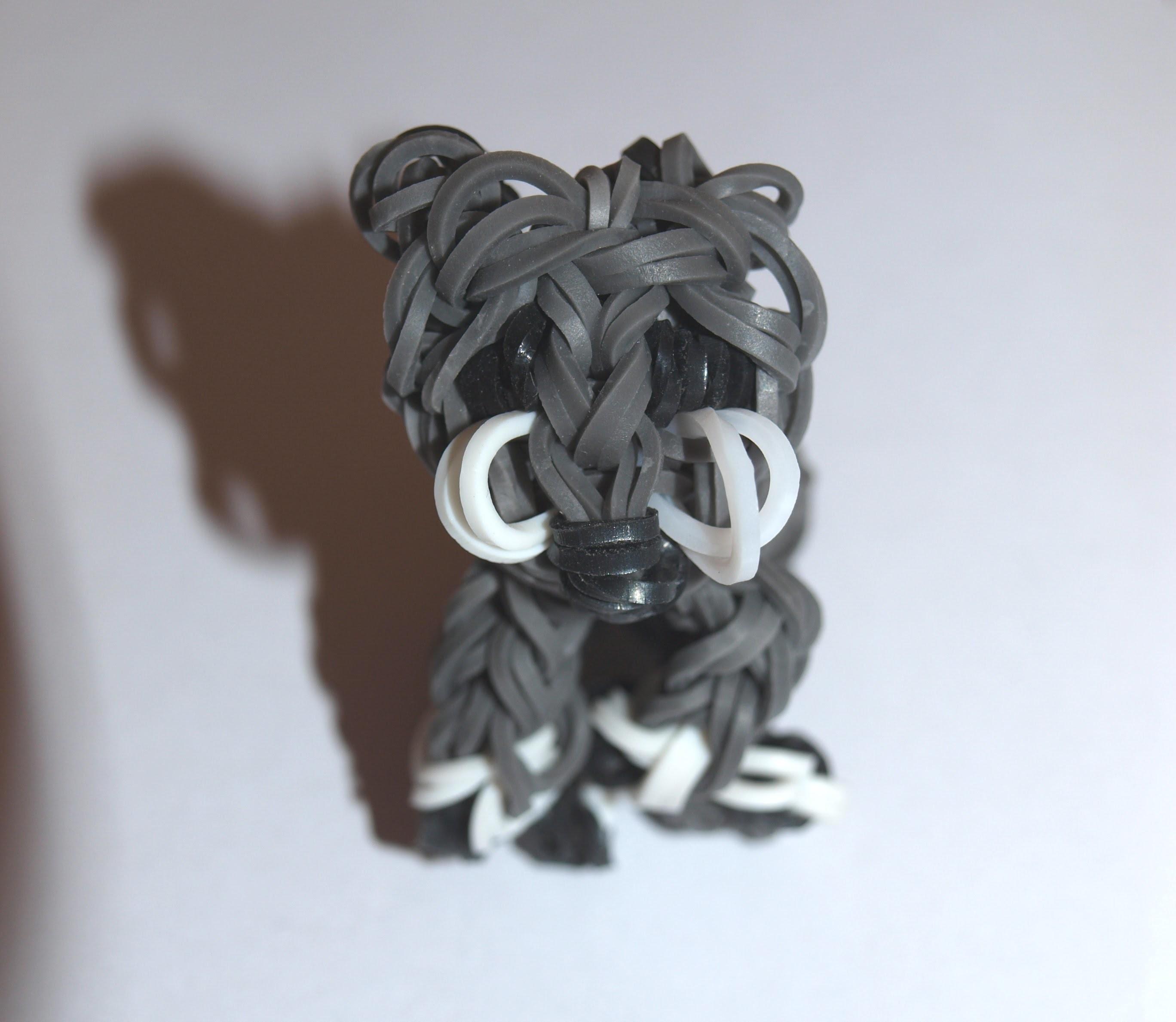 Tuto loom.Réaliser un chat en 3D avec des élastiques de type
