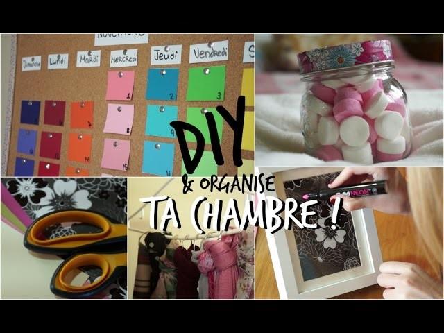 DIY | Décore et organise ta chambre !