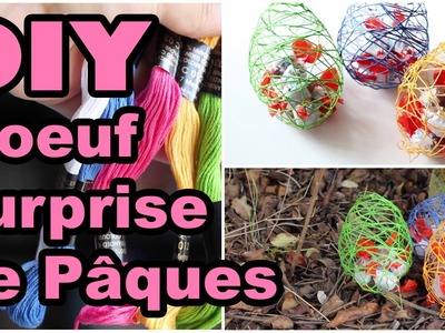 DIY # TUTO Oeuf surprise de Pâques - Easter egg
