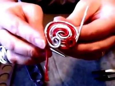 Comment réaliser une bague en fil aluminium