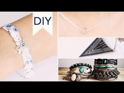 DIY | Bijoux (bracelet liberty, collier. )