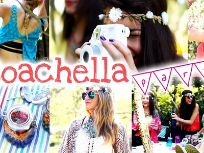 ❀ Spring Party ❀ Coachella inspired: DIY, Fashion, Yoga