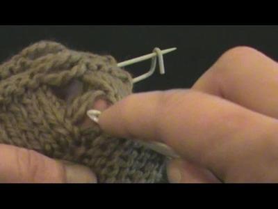 [Tricot] Rattraper une maille sur jersey envers et point mousse