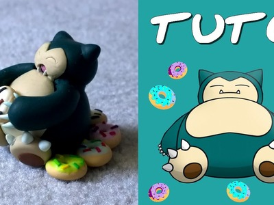 TUTO FIMO | Ronflex. Snorlax (de Pokémon)