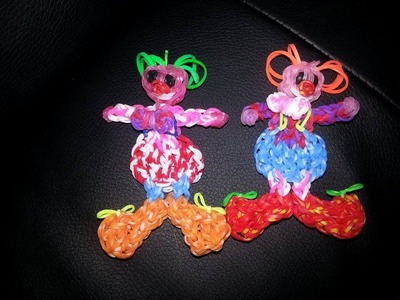 Clown en Loom Tutoriel en Français