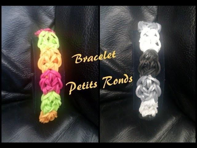Bracelet Petits Rond Rainbow loom® Tutoriel Français (Niveau Débutant)