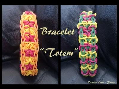 Bracelet Totem Rainbow Loom® Tutoriel Français (Niveau Intermédiaire)