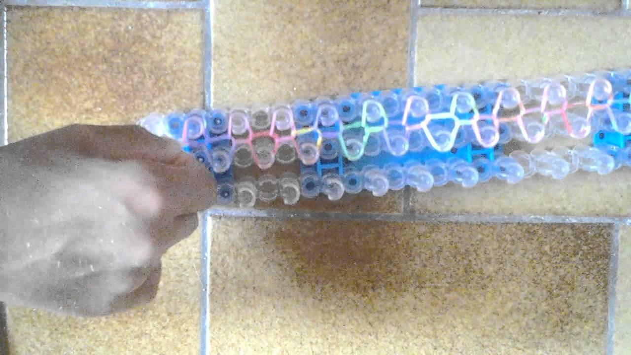 Xiloboy-Bracelet tréssé.Rainbow Loom