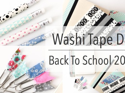 Washi Tape DIY | Back To School 2014!