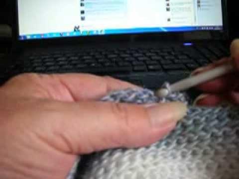 Écharpe Slip Stitch Sophie Gelfi 1