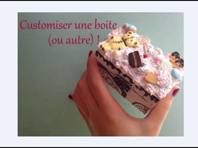 [DIY] Customiser une boite en DecoDen ☆