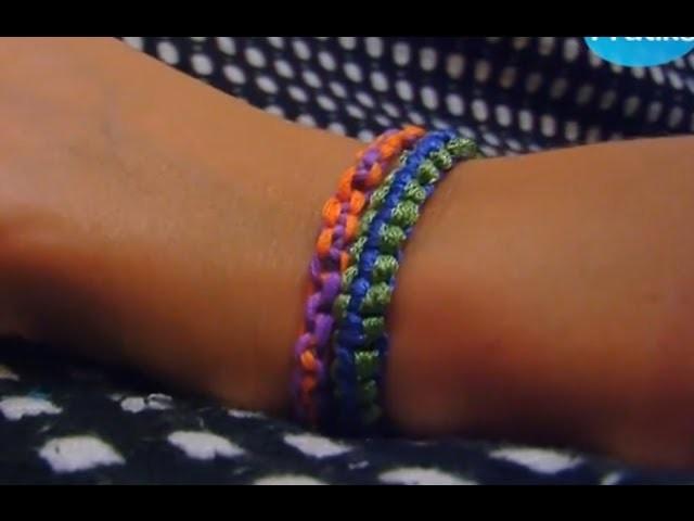 Comment faire un bracelet argentin en 5 minutes