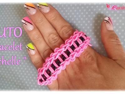 """[ TUTO ] bracelet  élastique """"échelle"""""""